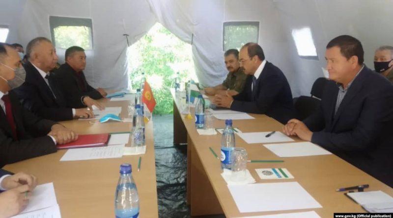 Өзбекстан ТИМи чек арадагы чырды «жергиликтүү мүнөздөгү окуя» деп атады